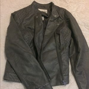 American Rag XL Gray Biker Jacket